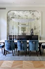 dining room walls style and depth to your home with mirrored walls