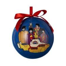 check out the beatles yellow submarine ornament on