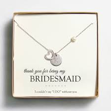 wedding gift necklace personalized open heart charm necklaces