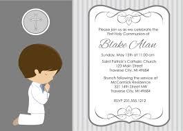 first communion invitations for boys plumegiant com