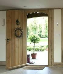 Solid Oak Exterior Doors Cottage Front Door Cottage Style Wooden Front Doors Cottage Door