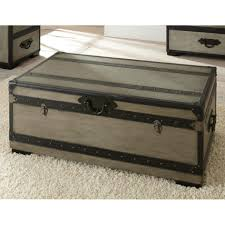 coffee table storage chest coffee table wicker modern trunk