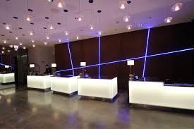 Hotel Lobby Reception Desk by Radisson Blu Aqua Hotel Ilight Technologies