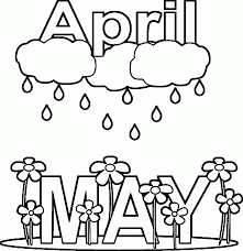 april coloring pages april coloring pages for kids archives best