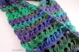 broomstick lace how to crochet a scarf broomstick lace infinity scarf free