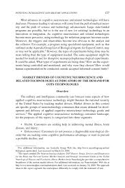 sample of editorial essay 5 potential intelligence and military applications of cognitive page 127