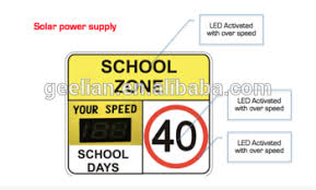 solar powered flashing yellow light traffic signal led flashing arrow sign road safety solar power