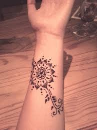 Small Flower Tatoos 34 Awesome Wrist Flower Tattoos