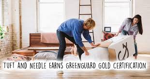 tuft needle mattress earns ul greenguard gold certification