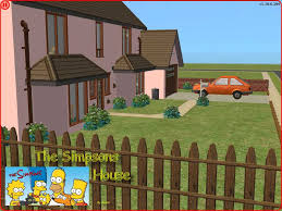 the simpsons house plan