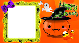 cute halloween png cute pumpkin frame by writerfairy on deviantart
