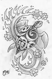 polynesian turtle by manumanutattoo d344j9g 676x1024 the meaning