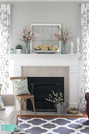 Easter Mantel Decorating Ideas Pinterest by Hi Friends It U0027s That Time Again My Mantel Is All Decked Out For