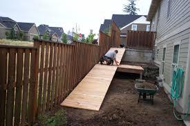 lawn mower access ramp deck masters llc portland or