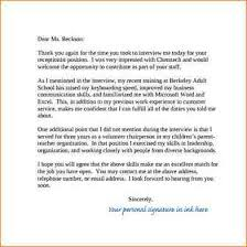 thank you letters for interview 4 thank you note after job