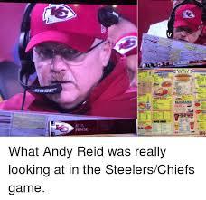Andy Reid Meme - bos ense ーーーーmom 筆 what andy reid was really looking at in