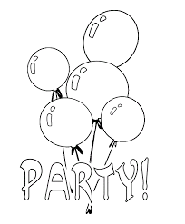 coloring pages attractive party coloring pages decorating