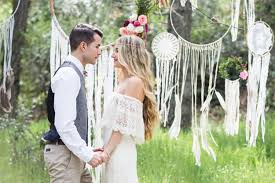mariage boheme chic un mariage tendance de style bohème chic