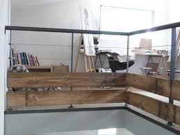 garde corps bois escalier interieur escaliers et garde corps matières grises