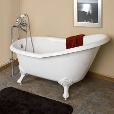 bathroom 54 inch emma cast iron slipper clawfoot bathtubs