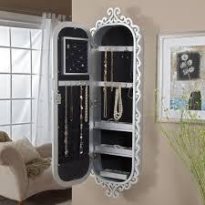 Wall Mirror Jewelry Storage 136 Best Jewelry Organizer Images On Pinterest Jewelry Cabinet