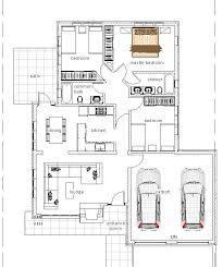 3 bedroom bungalow floor plan elegant three bedroom bungalow house plan david chola architect