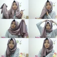 tutorial hijab pashmina tanpa dalaman ninja 11 cara memakai pashmina simple tanpa ciput hijabyuk com