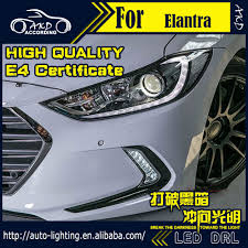 hyundai elantra daytime running lights car styling led daytime running light for hyundai elantra drl 2016