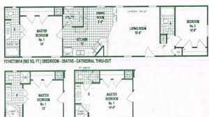 Single Wide Mobile Home Floor Plans Mobile Home Floor Plans Option Of Single Wide Mobile Home Floor
