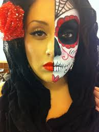 dead makeup halloween great mua i met at the raw event in march her day of the dead