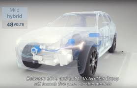 volvo electric car volvo will launch 5 evs by 2021 every model at least mild hybrid