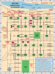 Savannah Map Maps 101 Things To Do Hilton Head