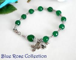 st jude bracelet jude rosary etsy