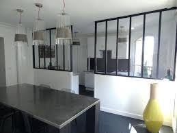 cloison vitree cuisine cloison vitree cuisine salon la cuisine est sacparace par une baie