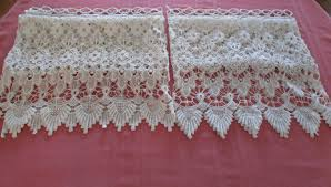 Old Fashioned Lace Curtains by Vintage Lace White Curtains Heavy Lace Curtains Shabby Chic