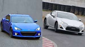frs toyota scion fr s vs subaru brz u2013 the same but different u2013 roadandtrack com