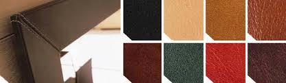 cuir de bureau sous mains de bureaux en cuirs et cuirs d ameublement
