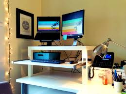 Wall Desk Diy by Bedroom Mesmerizing Standing Desk Diy Top Shelf Sit Stand