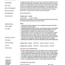 Child Care Worker Resume Template Construction Superintendent Resume Examples And Samples Free