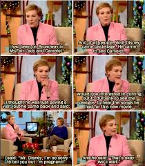 Mary Poppins Meme - julie andrews on how she got the part in mary poppins julie