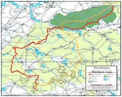 benton mackaye trail assn overview map