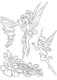 tinkerbell coloring tinkerbell friends coloring pages