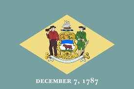American Flag With Yellow Fringe Flag Of Delaware Wikipedia