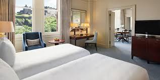 luxury suites at waldorf astoria edinburgh edinburgh