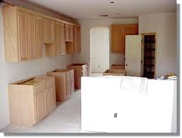 kitchen cabinets unfinished