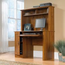 harvest mill computer desk with hutch 404961 sauder