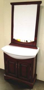 34 white ceramic counter with sink bathroom vanity cabinet at2002