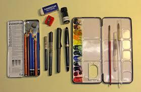 sketchblog sketching gear