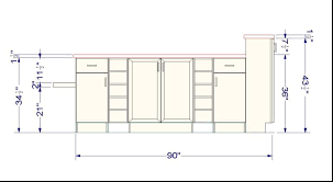 Kitchen Cabinet Size Chart Awesome Ada Kitchen Cabinets Taste