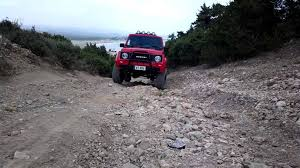 suzuki samurai suspension testing youtube